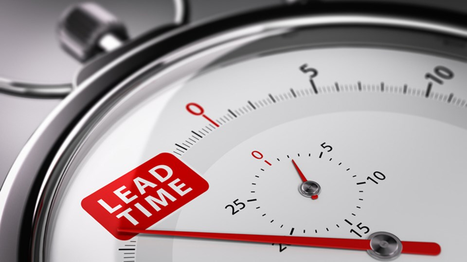How to Reduce Supply Chain Lead Times